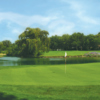 A view of the 11th green at White Pines Golf Course - East Course