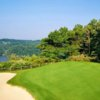 A view of green at Lakeview Golf Course from Lakeview Resort