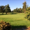 A view of a green at Madrona Links Golf Course