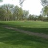 A view of the 15th green at Veenker Memorial Golf Course