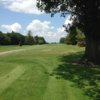 A view from a tee at Memorial Park Golf Course