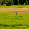 A view of a hole protected bunkers at Redtail Golf Club