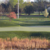 A view of a green at Grayslake Golf Course