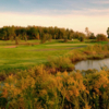 A view of fairway and green #6 at Innisfil Creek Golf Course