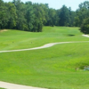 A view of a tee at Boonville Country Club