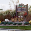 A view of the entrance sign to Palos Hills Golf Club