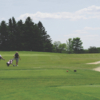 A view from a tee at Afton Alps Golf Course
