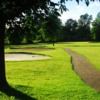 A view of a fairway at Beaverdale Golf Club