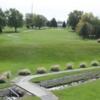 A view of the 1st fairway at Kokomo American Legion Golf Course