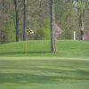 A view of a hole at Hickory Hills Golf Club