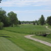 A view of a fairway at Hickory Hills Golf Club