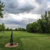 A view from a tee at Eagle Trace Golf Course