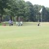 A view of a hole at Goldsboro Golf Course