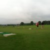 A view of the driving range at Goldsboro Golf Course