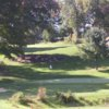 A view green #8 at Guilford Lakes Golf Course