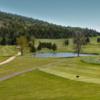 A view of a fairway at Club de Golf Mont Ste Marie