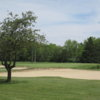 A view of some bunkers at Hickory Hills Golf Club