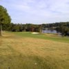 A view of a fairway at Eglin AFB Golf Course