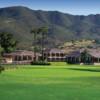 A view af a green at Pala Mesa Resort