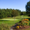 A view of the 14th green at Ralph Myhre Golf Course