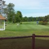A view of the practice putting green at North Shore Golf Club