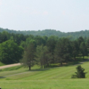 A view from tee #10 at Salt Fork State Park Golf Course
