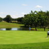 A view from Studebaker Golf Course