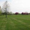 A view of the driving range tees at Deer Creek Golf Club