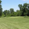 A view of the 14th green at Pierce Lake Golf Course