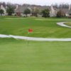 A view of the 7th hole at Pierce Lake Golf Course
