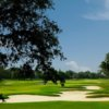 A view of the 10th fairway at Championship Course from Stonebridge Golf Club of New Orleans