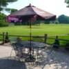 A view from the patio at Bello Woods Golf Course