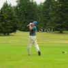 A view from a tee at Whispering Firs Golf Club