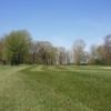 A view of a fairway at Woodland Hills Golf Club