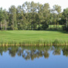 A view over the water from Oakwood Golf Course