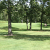 A sunny day of green #4 at Oakwood Golf Course