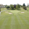 A view from tee #1 at Range End Country Club