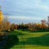 A fall view of hole #17 at Big Fish Golf Club