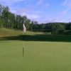 A view of a hole at Big Fish Golf Club
