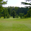 A view from a tee at Lost Creek Golf Club