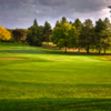 A view of a green at Spooner Golf Club