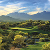 A view of the signature hole #17 at Golf Club of Estrella ( ©2000 Lonna Tucker )