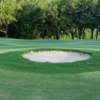 A view of a green from The Atchafalaya at Idlewild