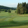 A view of a green at Riverbend Golf & Fishing Club