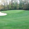 A view of a green at Brockport Golf Club