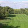 A view of a fairway at Fairfield Hills Golf Course
