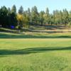 A view of a hole at Tomahawk Lake Country Club