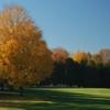 A fall view of the 17th green at Shawneeki Golf Club