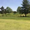 A view of a green at Moss Hill Golf Course