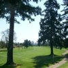 A view of a tee at Meriwether National Golf Club